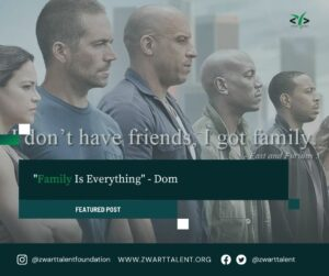Family, Family Is Everything, Dom, Dominic Toretto, Fast 9, Friends, Movies, Life Lessons, Child Raising, Career,
