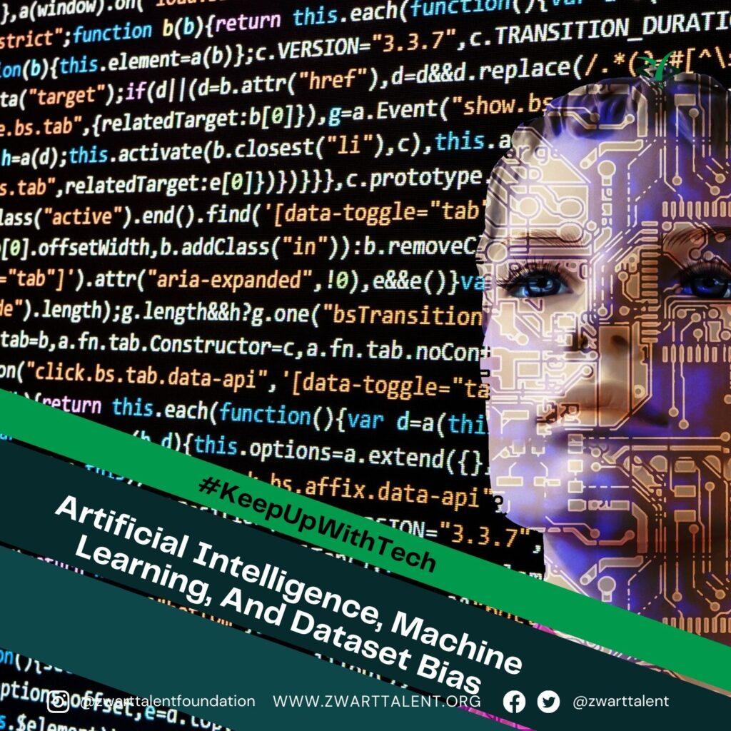 Artificial Intelligence, Machine Learning, Dataset Bias, Data, Dataset, Bias, Tech Industry, Diversity, Inclusion, Representation,