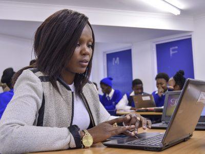 WikiAfrica, African School for Excellence, Tsakane, 2017, Image: ©Eugene Malaka